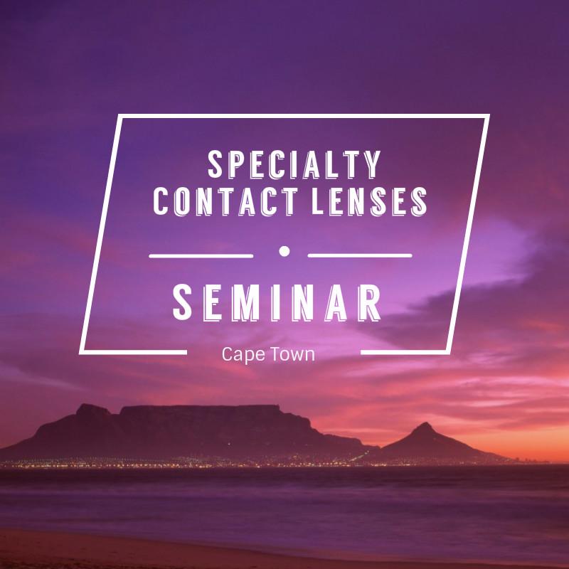 Specialty Contact Lens Seminar Cape Town Icon