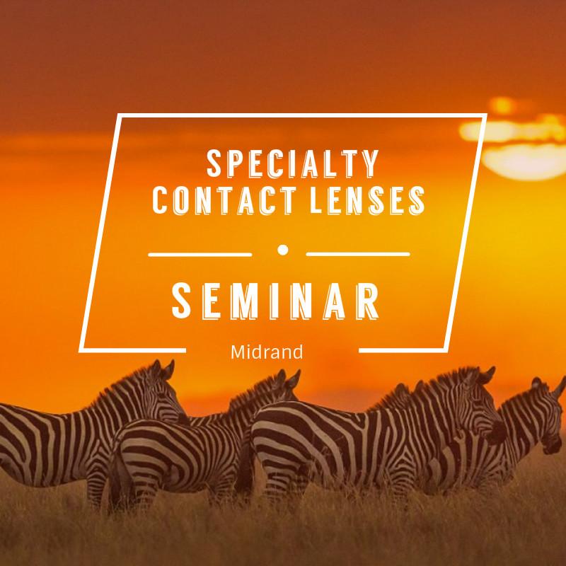 Specialty Contact Lens Seminar Midrand Icon